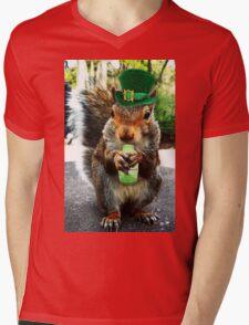 drunk squirrel Mens V-Neck T-Shirt
