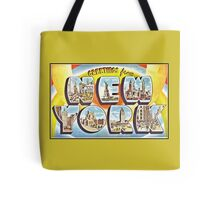 Greetings from New York Forties Fifties style Tote Bag