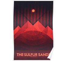 Amalthea - The Sulfur Sands Poster