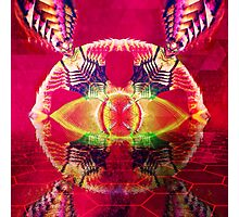Psychedelic Mania Photographic Print