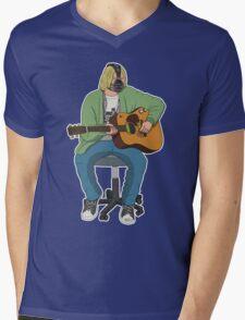 Kurt CoBane Mens V-Neck T-Shirt