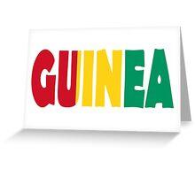 Guinea Greeting Card