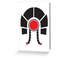 Mass Effect - Legion (Black) Greeting Card
