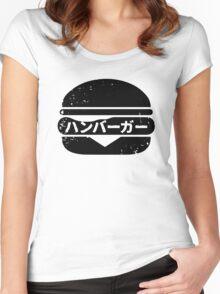 Hamburger (hanba-ga) Women's Fitted Scoop T-Shirt