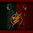 Flarrow - Arrow and Flash by IronAvenger