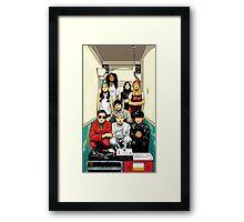 Born Hater Framed Print