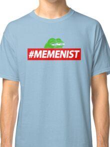 Memenist Meme Meninist Feminist Parody Classic T-Shirt