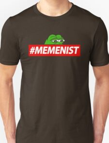 Memenist Meme Meninist Feminist Parody Unisex T-Shirt
