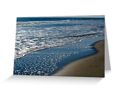 Ocean Shore Greeting Card