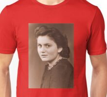 Haunting Portrait of an Anonymous German Woman during WW2 Unisex T-Shirt