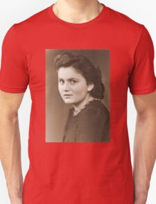 Haunting Portrait of an Anonymous German Woman during WW2 T-Shirt
