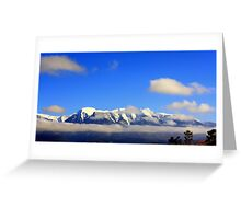 The Mission Mountains Greeting Card