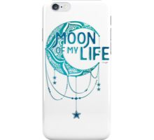 Moon: Color iPhone Case/Skin
