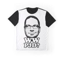 What Would Penn Jillette Do? (wht) Graphic T-Shirt