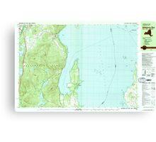 New York NY Willsboro Bay 140309 1980 25000 Canvas Print