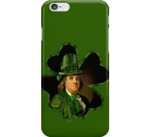 Lucky Ben Franklin Ready for St Patricks Day iPhone Case/Skin