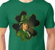 Lucky Ben Franklin Ready for St Patricks Day Unisex T-Shirt