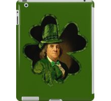 Lucky Ben Franklin Ready for St Patricks Day iPad Case/Skin