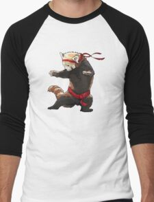 Red Panda FIGHT Men's Baseball ¾ T-Shirt