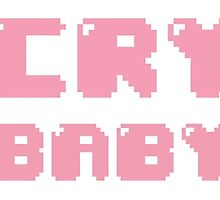 Crybaby Pastel Pixel Tear by Kiseoppie