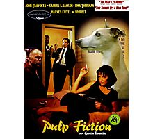 Whippet Art - Pulp Fiction Movie Poster Photographic Print