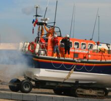 Launching The Ramsey Lifeboat Sticker