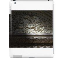Penrhyn castle-Two dragons iPad Case/Skin