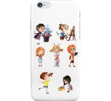 Cute children iPhone Case/Skin