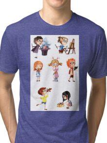 Cute children Tri-blend T-Shirt