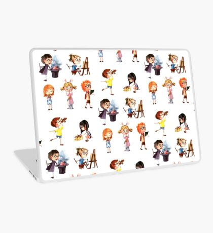 Cute children Laptop Skin