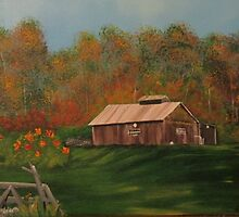 The Sugar House at the County Home 2 by Naomi Blankenship