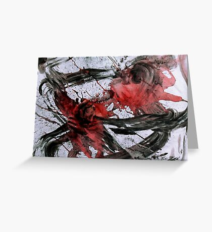 Ink Dance: Spirits Ride Greeting Card