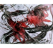 Ink Dance: Spirits Ride Photographic Print