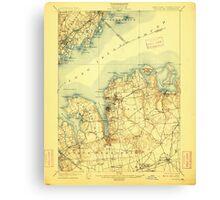 New York NY Oyster Bay 148170 1900 62500 Canvas Print