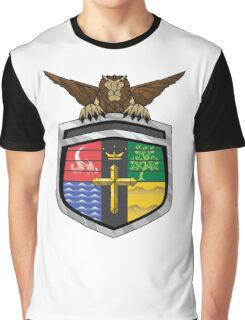 Voltron Coat of Arms Graphic T-Shirt