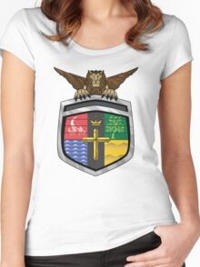 Voltron Coat of Arms Women's Fitted Scoop T-Shirt