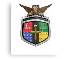 Voltron Coat of Arms Metal Print