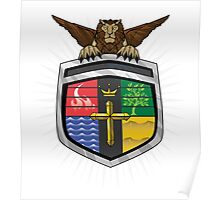 Voltron Coat of Arms Poster