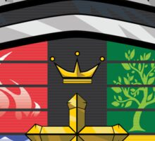 Voltron Coat of Arms Sticker