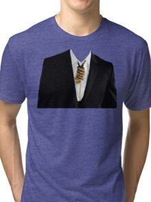 Free Yourself Tuxedo With Rope On Neck Tri-blend T-Shirt