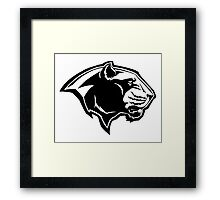 Panther graphic Framed Print