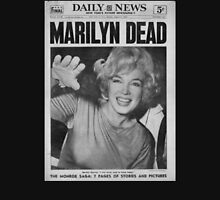 Marilyn Monroe Dead Newspaper Unisex T-Shirt