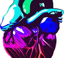 Rainbow Heart by robotface