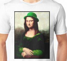 Lucky Mona Lisa - St Patrick's Day Unisex T-Shirt