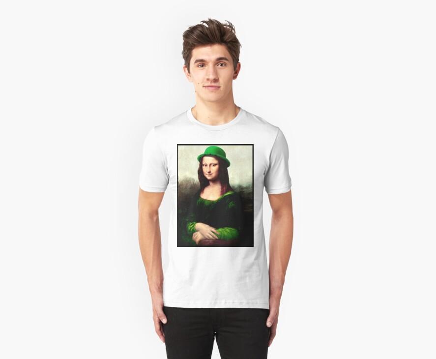 Lucky Mona Lisa - St Patrick's Day by Gravityx9