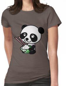 """Panda"" Womens Fitted T-Shirt"