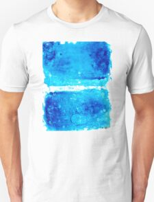 Blue Modern Art - Two Pools - Sharon Cummings Unisex T-Shirt