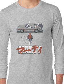 Back to the Future - Akira Long Sleeve T-Shirt