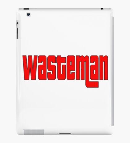 WasteMan Shirt iPad Case/Skin