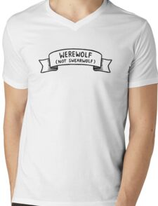 Werewolf (not swearwolf) (What We Do in the Shadows) Mens V-Neck T-Shirt